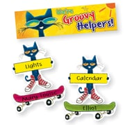 Edupress® Pete the Cat® Mini Bulletin Board Set, Groovy Classroom Jobs, 47/Pack