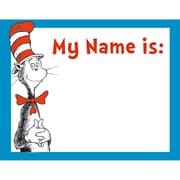 Eureka® Name Tag, Cat In The Hat, Infant - 3rd Grade (EU-659750)