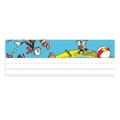 Eureka Dr. Seuss Products, Cat in the Hat Name Plates