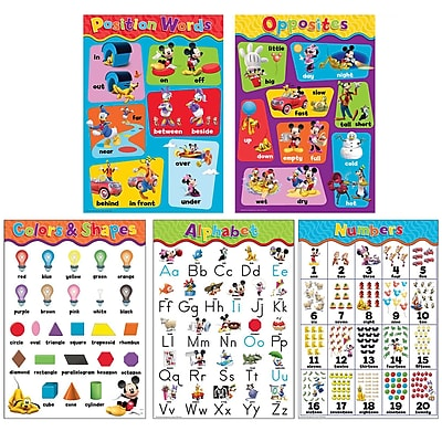 Eureka Mickey Mouse Clubhouse Beginning Concepts BB Set, 5 pieces (EU-847533)