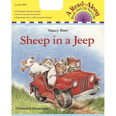 Carry Along Book & CD Sets, Sheep in a Jeep