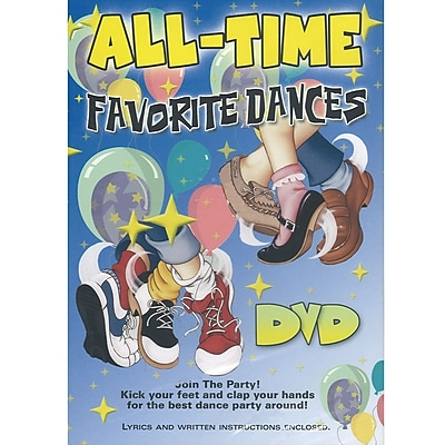 Kimbo Dance & Fitness DVDs, All Time Favorite Dances