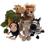 The Puppet Company, African Animals Finger Puppets 6/set (PUC002020)
