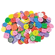 Roylco® Craft Accessories, Bright Buttons™, 1 lb. (R-2132)