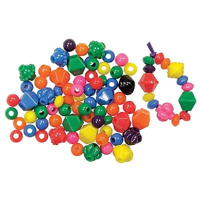 Roylco® Brilliant Beads™, 100/Pk