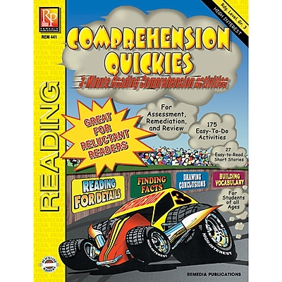 Remedia® Comprehension Quickies, Reading Level 3