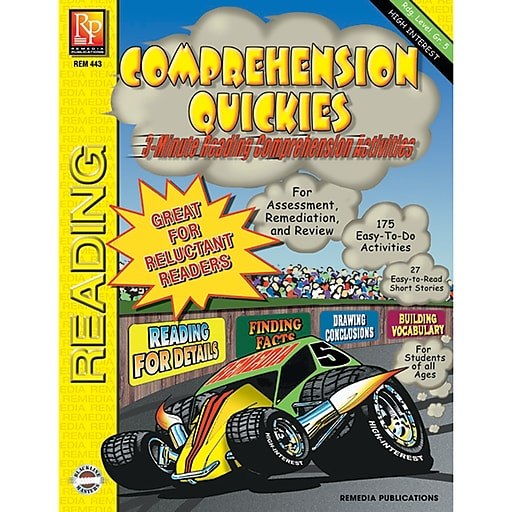 Remedia® Comprehension Quickies, Reading Level 5