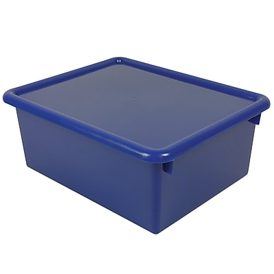 Stowaway Letter Box with Lid, Blue, 13