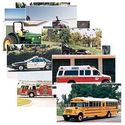 Stages Learning Materials®Vehicles Poster Set