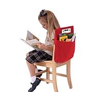 """Seat Sack™ Medium Square Seat Sack, 15"""", Red, 2 EA/BD"""