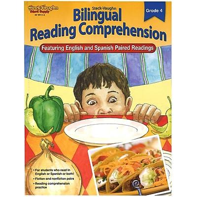 Bilingual Reading Comprehension Student Edition Grade 4