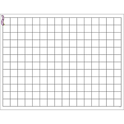 Trend® Graphing Grid (Small Squares) Wipe-Off® Chart - 17