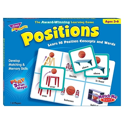 Trend® Match Me® Games, Positions