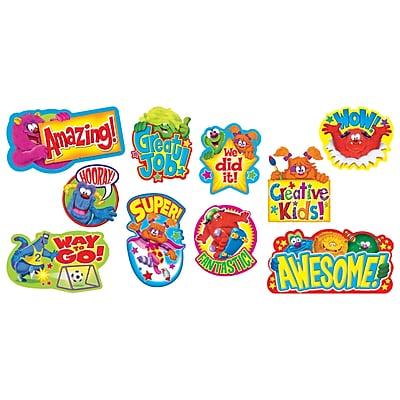 Trend® Mini Bulletin Board Sets, Furry Friends™ Wow Words
