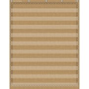 "Teacher Created Resources® Burlap 10-Pocket Pocket Chart, 34"" x 44"" (TCR20839)"