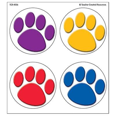 Wear 'Em Badges, Colorful Paw Prints