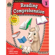 Teacher Created Resources® Ready Set Learn Reading Comprehension Book, Grades 3rd (TCR5929)