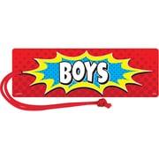 Teacher Created Resources Superhero Magnetic Boys Pass, bundle of 6 (TCR77275)
