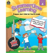 Teacher Created Resources® Summertime Learning Book, Grades 4th (TCR8844)