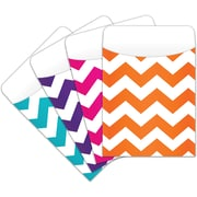 Top Notch Teacher Products Teaching Chevron Peel & Stick Pocket, 25/Pack (TOP6075)