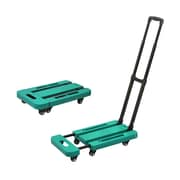 FuTECH HC012G Collapsible Platform Cart, Green