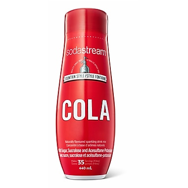 SodaStream® Cola Flavoured Syrup, 500mL