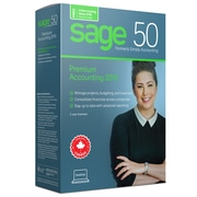 Sage 50 Premium Accounting 2019, Bilingual, 2 User License