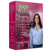 Sage Business Cloud Accounting, Bilingual, 1 Year Subscription