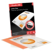Swingline GBC Clear EZUse LongLife Speed Thermal Laminating Pouches, 5 mil, Letter, 100/Pack