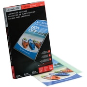 Swingline GBC Clear Fusion EZUse LongLife Speed Thermal Laminating Pouches, 5 mil, Legal, 100/Pack