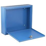 "Adiroffice Blue Multi Purpose Large Size Suggestion Drop Box 12"" W X 3"" D X 10"" H"