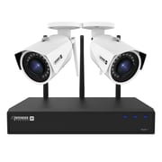 Defender 2K 4MP Wireless 4-Channel 1TB Security System with Remote Viewing and 2 Wide Angle Wi-Fi Cameras (W2K1T4B2)