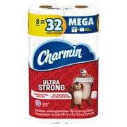 Charmin Ultra Strong Mega Rolls, 8/Pack