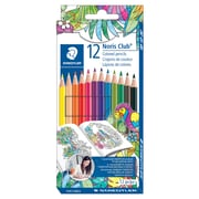 Staedtler Noris Club Coloured Pencils Anti Break System (ABS), 12/Pack