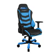 DXRacer IS166 Iron Series Gaming Chair, Black/Blue (OH/IS166/NB)