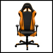 DXRacer RE0 Racing Series Gaming Chair, Black/Orange (OH/RE0/NO)