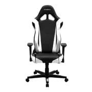 DXRacer RE0 Racing Series Gaming Chair, Black/White (OH/RE0/NW)