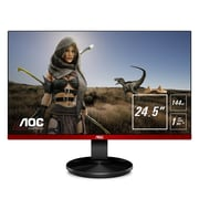 "AOC G2590FX 24.5"" Frameless Gaming Monitor, G-SYNC Compatible + AdaptiveSync, 144Hz, 1ms"