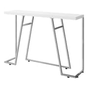 "Monarch 48""L Hall Console Metal Accent Table"
