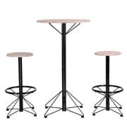 2 Stool And 1 Bar Table Life Bar Set (3339-DM6401-S3)