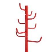 Bazaar Red 8-Hook Coat Rack (3339-DM6391-00)