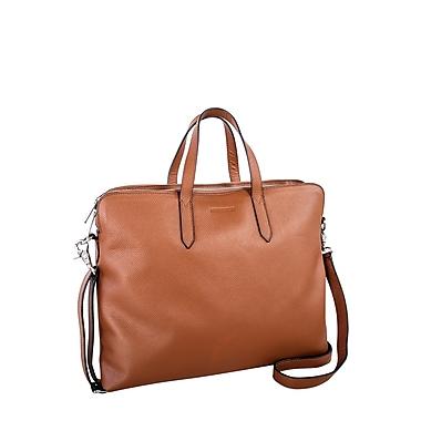 0efe02c92b Nextech Leather 15.6 Computer Bag Tan