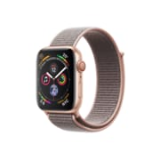 [PRESALE] Apple Watch Series 4, GPS + Cellular, Gold Aluminium Case with Pink Sand Sport Loop