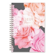 """2019 Blue Sky Planner BS Joselyn PP 5""""H x 8""""W RY Monthly Wirebound (110396)"""