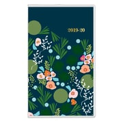 """2019 Snow & Graham for Blue Sky Planner New Kukka Clear PVC 3.625""""H x 6.125""""W RY Monthly Stapled (109335)"""