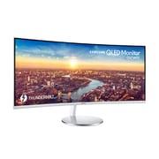 SAMSUNG LC34J791WTNXZA 34-inch LCD VA Curved Screen Monitor, 3000:1, 100Hz, 3440 x 1440, 4ms