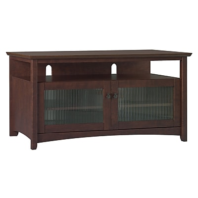 Bush Furniture Buena Vista TV Stand for TVs up to 50W, Madison Cherry
