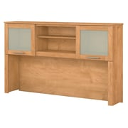 "Bush Furniture Somerset 60""W Hutch for L Shaped Desk, Maple Cross (WC81431)"