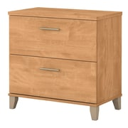 Bush Furniture Somerset Lateral File Cabinet, Maple Cross (WC81480)