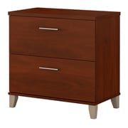 Bush Furniture Somerset Lateral File Cabinet, Hansen Cherry (WC81780)
